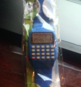 Часы-калькулятор