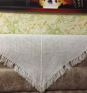 Шикарный белый шарф накидка ✌️️🌞❤️