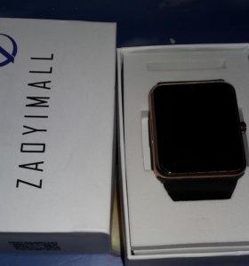 Часы золотые SMART WATCH GT08