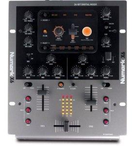 Микшерный пульт NUMARK X6