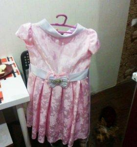 Платье для девочки 5-7лет