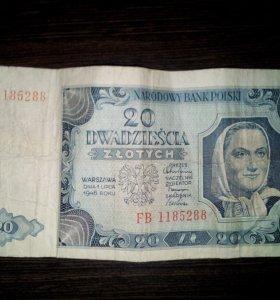 Польская банкнота