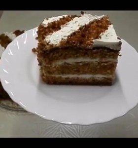 Торты пирожные на заказ