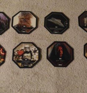 Звёздные войны карточки 150 2 штучки