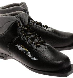 Стильные лыжные ботинки(новые)