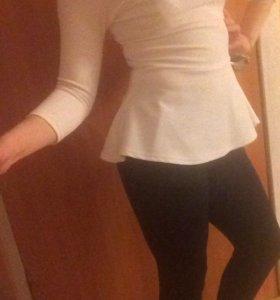 Костюм кофта(баска)+штаны