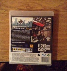 Продам лицензионный диск на ps 3 gta IV