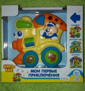 Игрушка-панель little tot паровоз