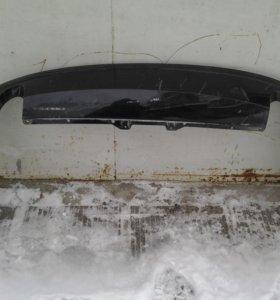 Ауди A8 Спойлер заднего бампера 4H0807521 оригинал