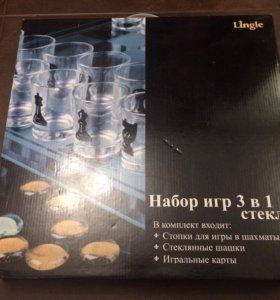"""Набор игр из стекла (""""пьяные игры"""")"""