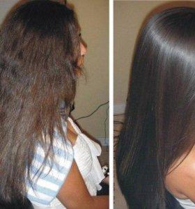 Процедура для волос ботокс/кератин