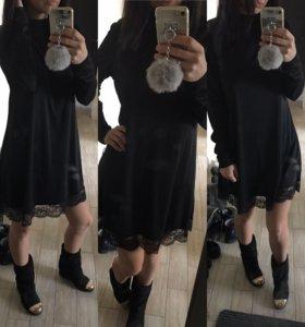 Новое платье водолазка