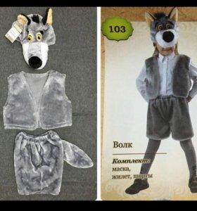 Маскарадный костюм волка на праздник ребенку