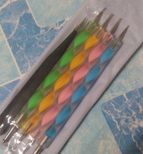 Для точечного дизайна ногтей