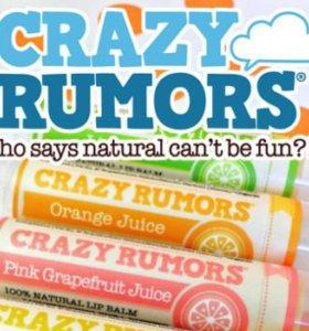 Сладкий бальзам для губ Crazy Rumors
