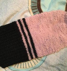 Новый вязаный свитер для кошечки или собачки