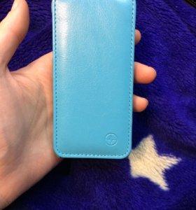 Книжка кожаная iPhone 5