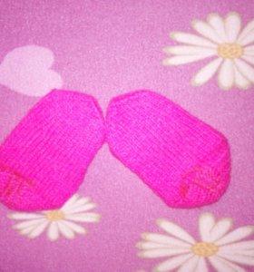 Варежки и носочки 1-3 года