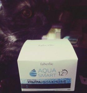 """Крем для лица от Faberlic """"Aqua smart"""" . Новый"""