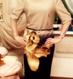 Элегантное платье р46-48