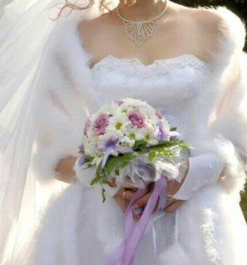 Накидка свадебная