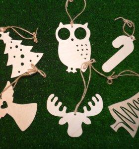 Очаровательные игрушки из натурального дерева