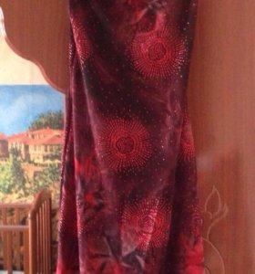Шикарное платье с боестками