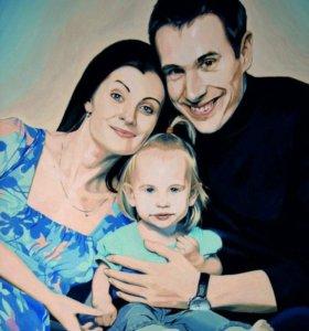 Портрет по фото в Краснодаре
