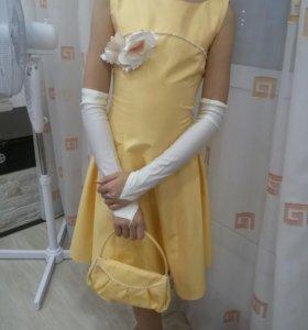 Платье на 10-12лет