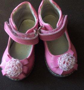 20 размер детские туфельки