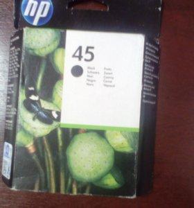 Картридж HP 45 чёрный