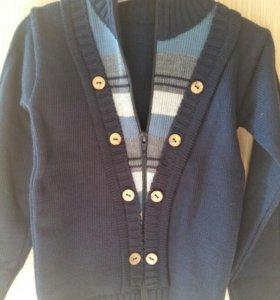 Кофта-свитер, на мальчика 12-24м.
