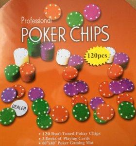 Покерный набор 120 pcs