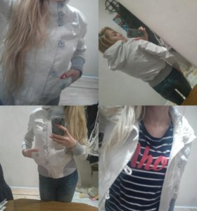 Фирменная куртка-ветровка NewYorker