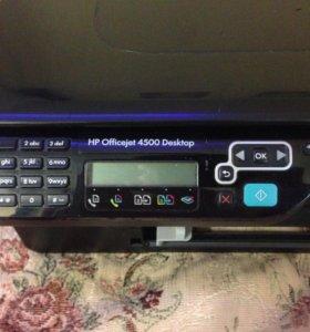 Принтер HP Offcejet 4500 Desktop