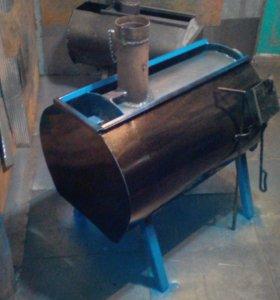 Печь гаражная длительного горения от6 до12 часов
