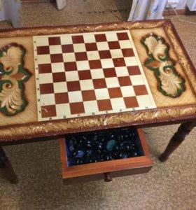 Большой шахматный стол