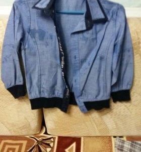 Костюм и рубашка 2-3 года