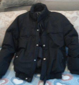 Мужская куртка утипленная б/у