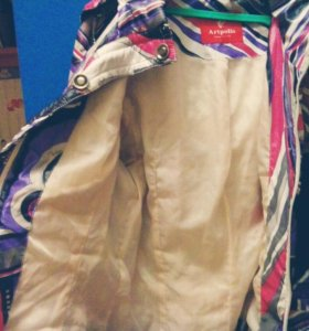 Весенняя-осенняя куртка на девочку 13-15 лет