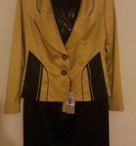 Платье и пиджак. Новое.