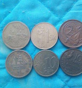 Продам иностранные монеты