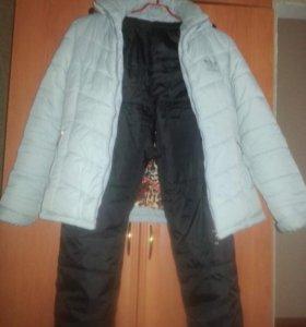 Спортивный зимний костюм