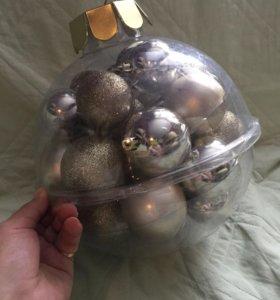 Набор елочных шаров 28шт.