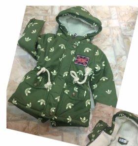 Куртка детская р.110 новая
