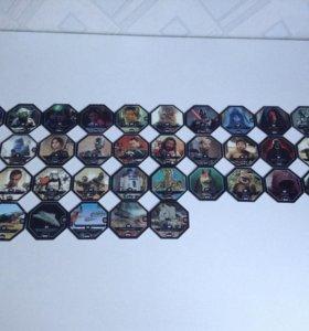Продам фишки звездные войны (вся коллекция)