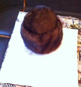 Продам норковую шапку б/у
