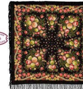 Новый павлопосадский платок