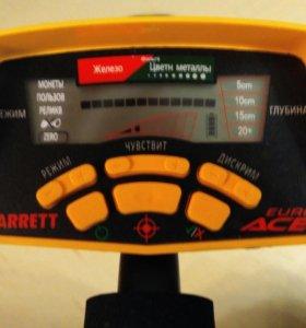 Garrett ACE-350 Euro.