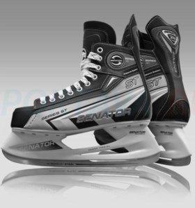 Коньки хоккейные  р40 новые